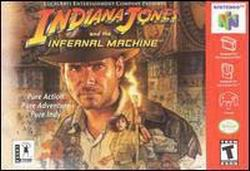 Indiana Jones and the Infernal Machine (USA) Box Scan